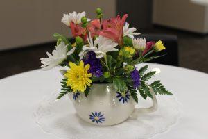 Teapot Floral Arrangements